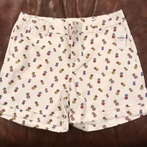 Gap Kids NWT small pineapple print shorts.